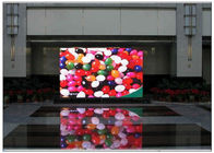 Aluminum Alloy / Steel Giant Advertising LED Screen Media Outdoor DIP P10