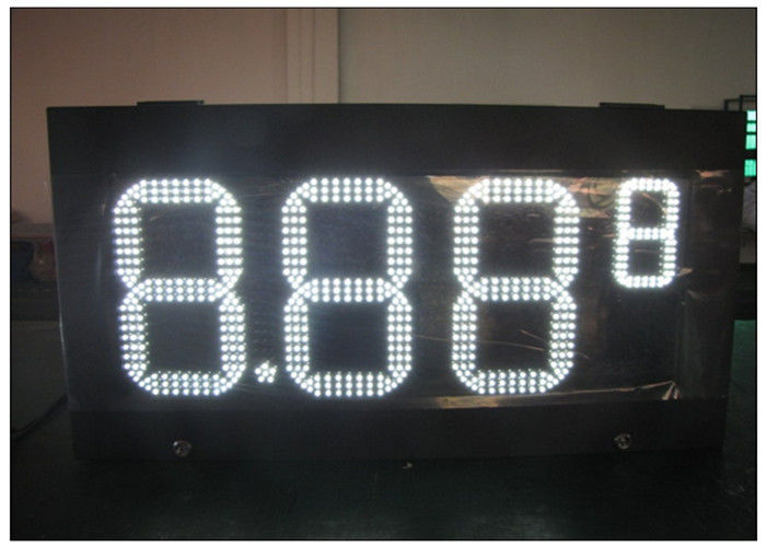 HD LED gas station price signs / gas electronics scoreboard With wireless controller