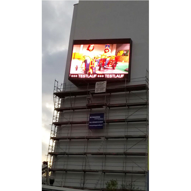 P10mm Brightness 8500nits SMD Outdoor LED Display Panel waterproof IP68 320mm × 160 dot matrix