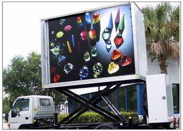 Porcellana 3 forum all'aperto di colore pieno elettronico dei lati, camion di DIP346 LED Sdvertising distributore